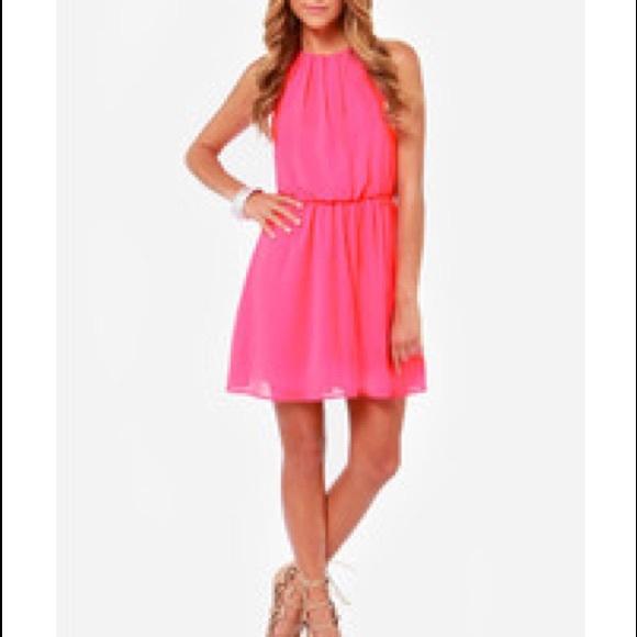 finn & clover Dresses & Skirts - Summer coral dress